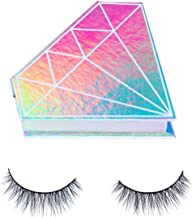 Davocy 3D Natural False Eyelashes New Handmade Fake Lashes High End Reusable Soft Eyelash Strips For Woman Makeup Cruelty Free(1 Pairs 2 Pieces)
