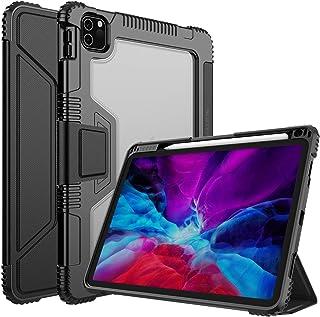 جراب نيلكن لجهاز iPad Pro 11 2021/2020 (الجيل الثالث/الثاني)، iPad Air 10.9 / Air 4th 2020، [مع واقي شاشة، حامل قلم مدمج] ...