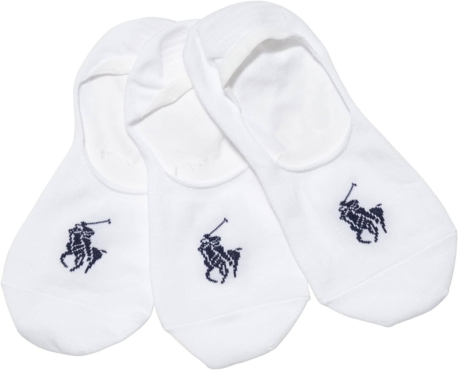 Polo Ralph Lauren Men's No Show Liner With Arch Support - 3 Pack 8273PK