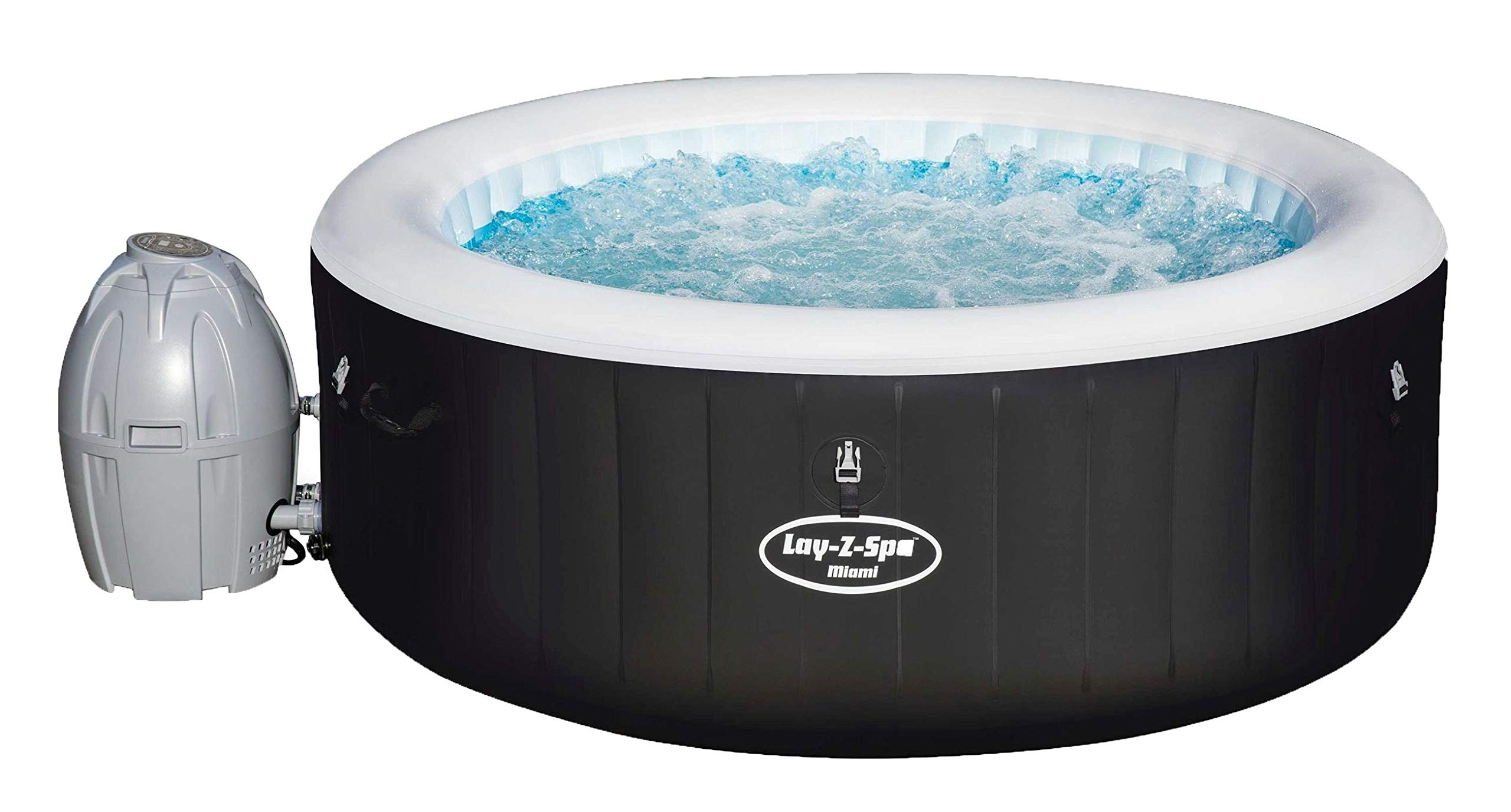 Bestway Lay-Z Miam SPA Hinchable para 2-4 Personas: Amazon.es: Jardín
