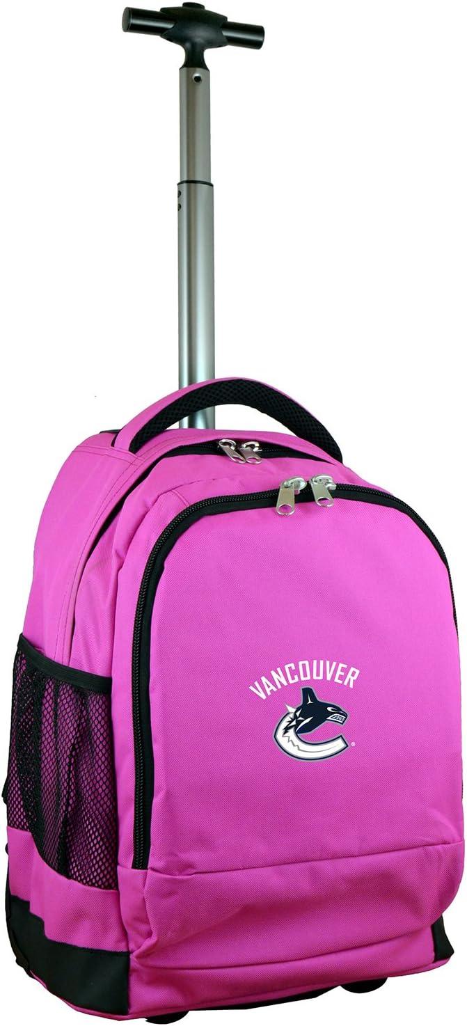 NHL Wheeled Backpack Pink 19-inches 宅配便送料無料 超安い