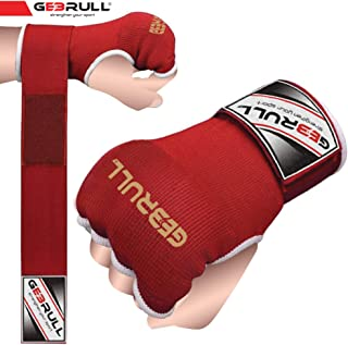 Gebrull Unisex Boxing Inners Gloves MMA Handwraps Fingerless Padded Protection for Hands Fist Knuckles Thermal Material Pro Training