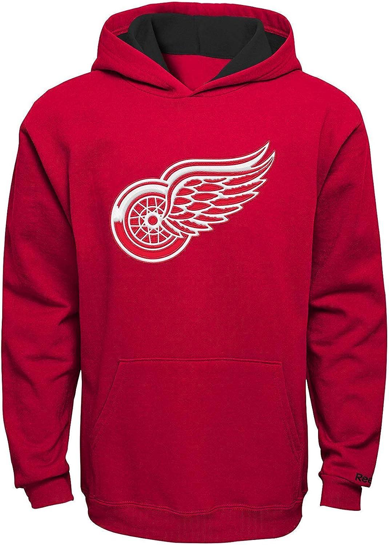 Outerstuff Detroit Red Wings Preschool Prime Basic Pullover Fleece Hoodie