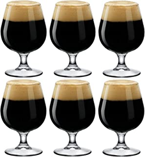 Bormioli Rocco Craft Beer/Ale Snifter Glasses - Gift Box Of 6-530ml (18oz)