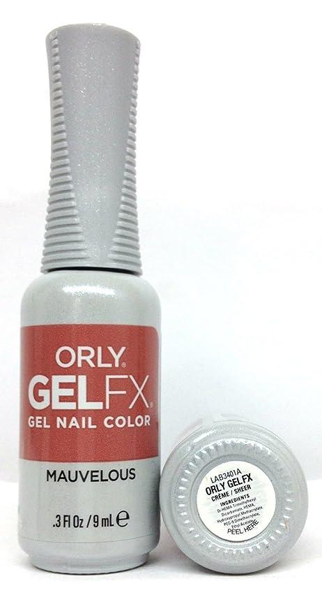 ポータルエンドウ復活ORLY GelFX - The New Neutral Collection - Mauvelous - 9 ml / 0.3 oz