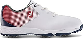 FootJoy Kids' D.n.a. Helix Junior-Previous Season Style Golf Shoes