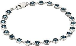 LAUREN Ralph Lauren Headlines 7.5 in Hexagon Flex Bracelet