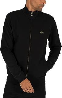 Lacoste Men's Zip Track Jacket, Black