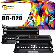 Toner Bank Compatible Drum Unit Replacement for Brother DR820 DR-890 for Brother HL-L6200DW MFC-L5850DW MFCL5900DW MFCL6700DW MFCL5800DW HLL6200DW HLL5200DW HLL5100DN HLL6300DW MFCl5900W Printer-2PK