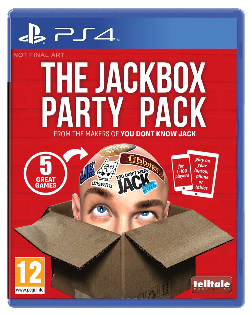 Jackbox Party In stock Pack PS-4 Max 44% OFF UK