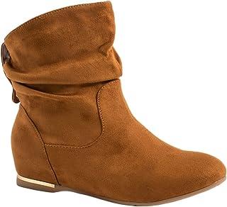30b20bd52356 Amazon.es: botines color camel - Zapatos para mujer / Zapatos ...