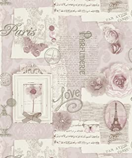 Arthouse 665403 Felicity Soft Pink Wallpaper