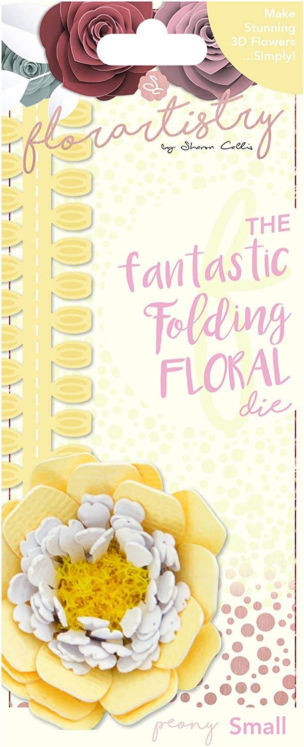 Florartistry Folding Die-Peony Small Max 85% OFF Metal Brown Latest item