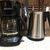 cafeteras Calentador de t/é Calentador de caf/é de acero inoxidable con portavelas portavelas extra/íble para teteras de vidrio de borosilicato