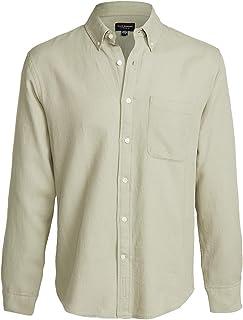 Club Monaco Men's Standard Waffle Shirt