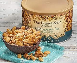 The Peanut Shop of Williamsburg Snack Mix 32Oz, Chesapeake Bay, 32 Ounce