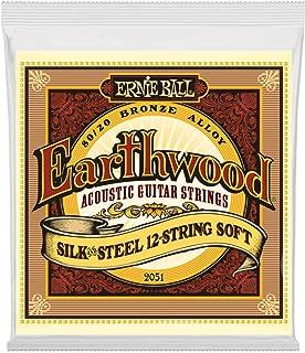 Ernie Ball Earthwood Silk and Steel 12-String Soft Acoustic Set, .009 - .046