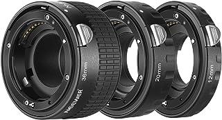 Neewer® 12mm,20mm,36mm AF Auto Focus ABS Extension Tubes Set for Nikon DSLR Cameras Such as D7200,D7100,D7000,D5300,D5200,D5100,D5000,D3300,D3200,D3000,D40,D40x,D100,D200,D300,D3,D3S,D700,D90