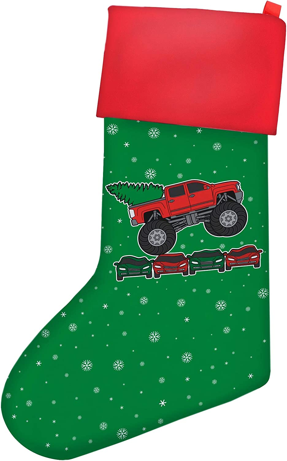 Funny 2020 Holiday store Party Decor Christ Recommended Monster Truck with