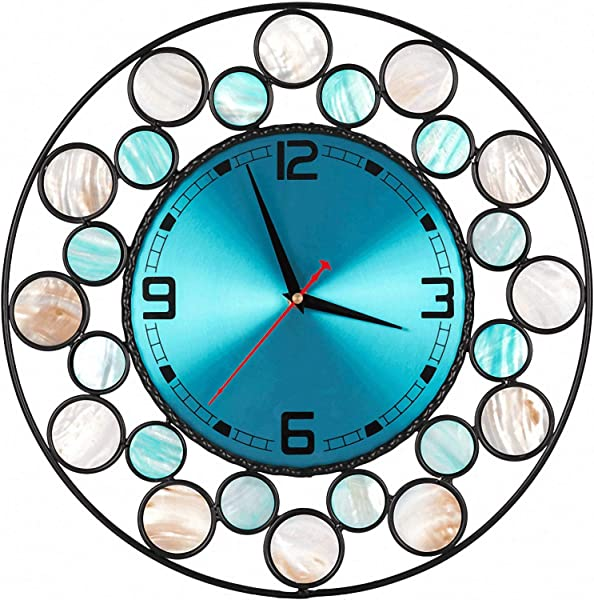 Wall Clock 15 Wall Clock Seashells Decorative Original Ecology Creative Style Large Clock