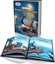 thomas the train personalized story book