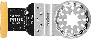 Fein 63502236270 Starlock E-Cut Carbide Pro Hard Metal Plunge Cut Saw Blade, TiN Coated, 1-3/4