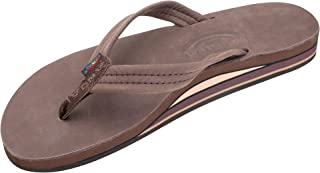 "Rainbow Sandals Women's Double Layer Premier Leather w/ 3/4"" Strap"