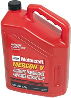 Best Genuine Ford XT-5-5QM MERCON-V Automatic Transmission and Power Steering Fluid - 5 Quart Review