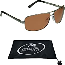 HD Vision Polarized Aviator Sunglasses with Durable High Nickel Metal Frames.