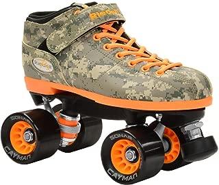 Riedell New R3 Digital Camo Quad Roller Derby Speed Skates (Men 6/Ladies 7)