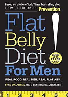 Flat Belly Diet! For Men: Real Food, Real Men, Real Flat Abs