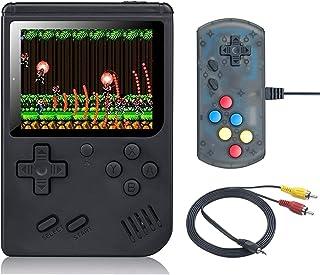 weikin Console De Jeux, Retro Games Console Portable, 168 Jeux vidéo Rétro Classiques FC, Rechargeable Battery Connection ...