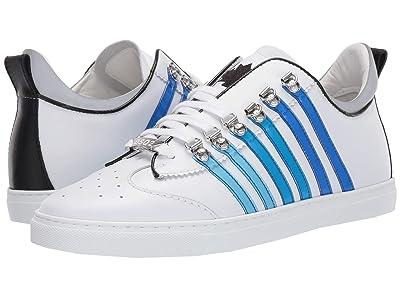 DSQUARED2 251 Tennis Sneaker (White/Blue) Men