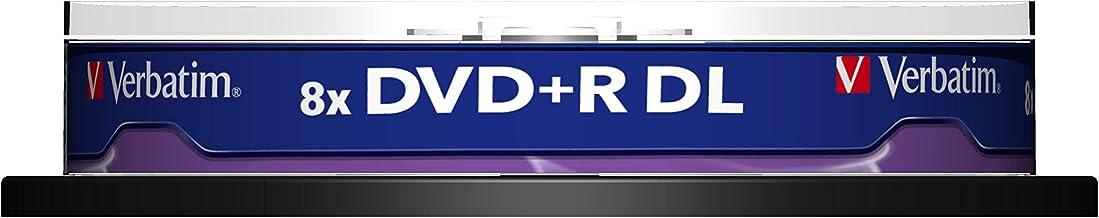 Verbatim DVD+R 8.5 GB spindle 10 pcs [VB-DPD55S1]