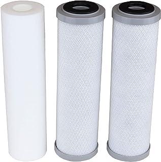 APECフィルターセットボトム3フィルター 対応機種: ROES-50, ROES-75, RO-45, RO-90, RO-PH90, RO-PERM, RO-Pump, RO-Hi, WFS-1000, ROES-UV75, ROES-PH...