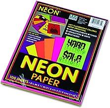 fluorescent construction paper