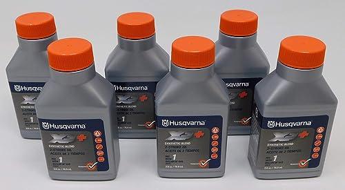 high quality Husqvarna XP 2 high quality Stroke 2021 Oil 2.6 oz. Bottle 6-Pack outlet sale