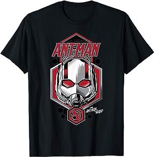 Marvel Ant-Man & The Wasp Red Headshot Badge T-Shirt