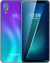 Unlocked Smartphone CUBOT X19 4GB RAM+64GB Cell Phone, 4000mAh, Dual 4G SIM, 5.93 inch FHD Display, Android 9.0 Pie, no Bloatware, GSM, AT&T and T-Mobile, Face ID, Fingerprint, Gradient