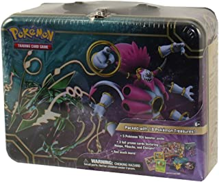 Pokemon TCG Collector Chest Lunchbox Tin 2015 Sealed Featuring Rayquaza & Hoopa EX