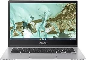 "ASUS Chromebook CX1, 14"" Full HD NanoEdge Display, Intel Celeron N3350 Processor, 64GB eMMC, 4GB RAM, Spill-Resistant..."
