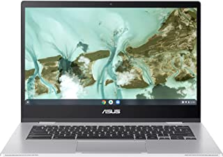 ASUS Chromebook CX1, pantalla Full HD NanoEdge de 14 pulgadas, procesador Intel Celeron N3350, 64 GB eMMC, 4 GB de RAM, te...