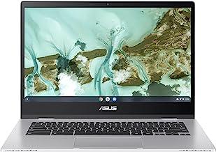 "ASUS Chromebook CX1, 14"" Full HD NanoEdge Display, Intel Celeron N3350 Processor, 64GB eMMC, 4GB RAM, Spill-Resistant Keyb..."