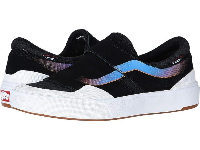 Vans Exp Slip On Pro Shoes BlackWhitePrimary