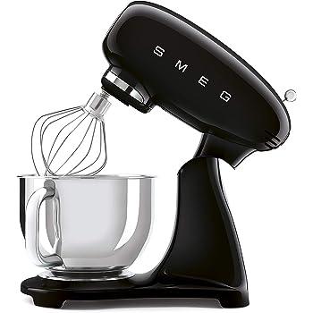 SMEG SMF03BLU - Robot de cocina (800 W, 4,8 L, 6 funciones, acero inoxidable 18/8, 22,1 x 40,2 x 49 cm), color negro: Amazon.es: Hogar