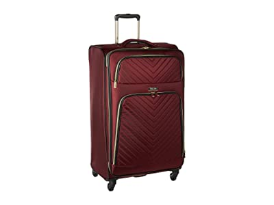 Kenneth Cole Reaction Chelsea 28 Quilted Expandable 4-Wheel Upright Pullman (Burgundy) Luggage