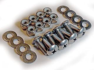 Caster Attaching Bolt Set for ShopSmith Mark 5 Woodworking Machines • Stainless Steel