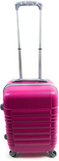 Hardside Spinner Luggage - 20-Inch, Carry-On-4 Wheels-Hot Pink