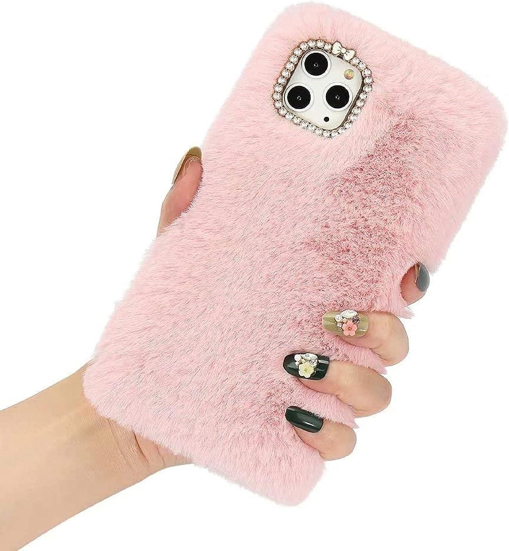 Fashionable Smagiv for Samsung Galaxy A01 Cute Girl Women Case Furry Fashion Spasm price