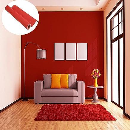 Amazon Fr Rouge Papiers Peints Peintures Outils Et